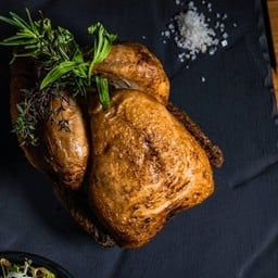 Roasted  Chicken (Whole ,1.2 kg)