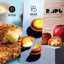 BAKEWORKS : Zakuzaku / BAKE cheese tart / RAPL สาขา Siam Center