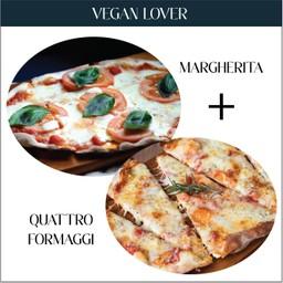 Vegan Lover Set - Margherita + Quattro Formaggi