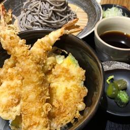 เซตโซบะกับข้าวหน้าเท็มปุระรวม