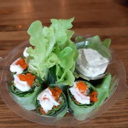 สลัดโรลกุ้ง Shrimp Salad Roll