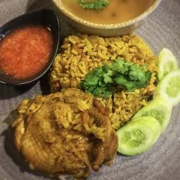 เซฟอี ข้าวหมกไก่ ข้าวซอย ตลาดเซฟอี หลังกสิกรไทย