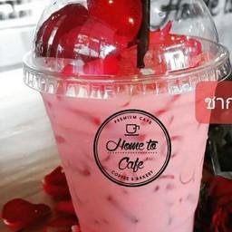 Iced Milk Rose Tea