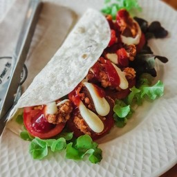 Spicy Fried Chicken Wrap