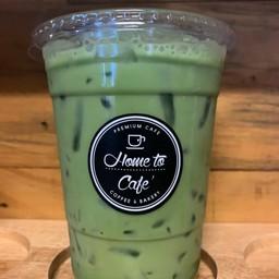 Iced Milk Green Tea