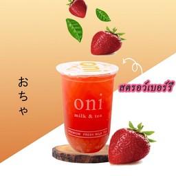 oni milk & tea หัวทะเล โคราช