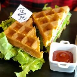 Ham & Cheese Waffle