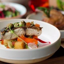 Pan-Fried Seabass Fillet