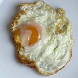 ข้าวไข่เจียวทรงเครื่อง อาหารเช้า แซนวิช