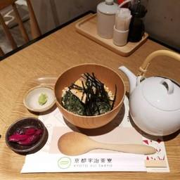 Tencha Soup With Rice   Salmon