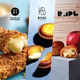 BAKEWORKS : Zakuzaku / BAKE Cheese Tart / Rapl / DDV สาขา Langsuan