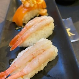 Ama Ebi Sushi ข้าวปั้นหน้ากุ้งหวานญี่ปุ่น