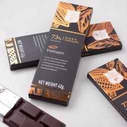 73% Vietnam dark chocolate