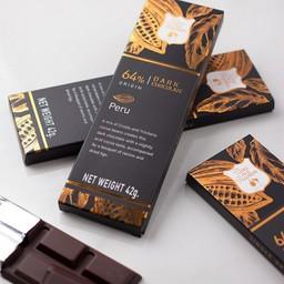 64% Peru dark chocolate
