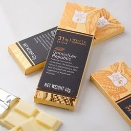 31% Dominican Republic white chocolate