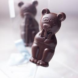 Mr. Bear -Dark chocolate sugar free lollipop