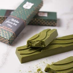 Matcha greentea tablet with filling