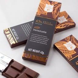 43% Venezuela Milk chocolate