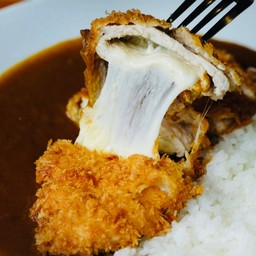Deep Fried Pork Loin with Cheese Curry
