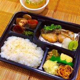 SAWARA SHIOYAKI Set meal ชุดปลาอินทรีย์ย่าง เกลือ