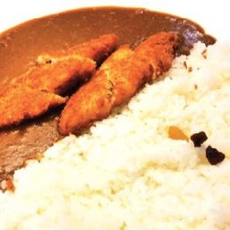Deep Fried Cod Fish with Curry Rice