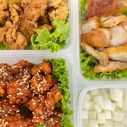 ไก่ทอดหรรษาซอกเกาหลี