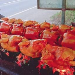ไก่หมุนหมักน้ำผึ้งชาววัง