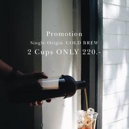 Promotion - Single Origin Cold Brew