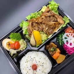 Healthy genghis khan lunch box(ヘルシージンギスカン弁当)