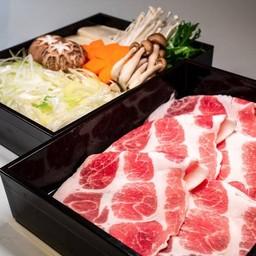Today's 1000THB SHABU L+sumibiyaki