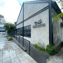 Cafe Amezon  PTT Station ประชาอุทิศ-ลาดพร้าว กทม.
