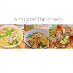 Be my guest. Homemade.(บีมายเกท โฮมเมด)