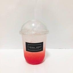 น้ำผลไม้ปั่น น้ำปั่น น้ำส้มคั้น สมูทตี้ นมสด (U seoul sweet)