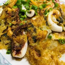 ผัดไทย หอยทอด ทะเลทอด  ตลาดสดท่าอุเทน