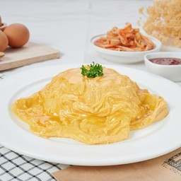 ข้าวไข่ข้น ข้าวไข่คั่ว KinKin by Bobo สาขาเมืองทอง