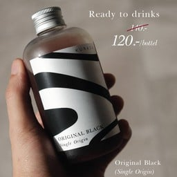 Ready to drink - Original Black and Latte 220ml