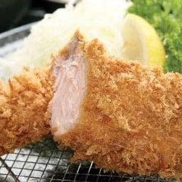 ชุดปลาแซลมอลชุบแป้งทอด