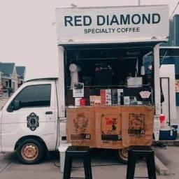 Red Diamond Cafe( Truck) Little walk bangna
