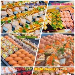 KsM SUSHI ตลาดโต้รุ่งอุบลสแควร์