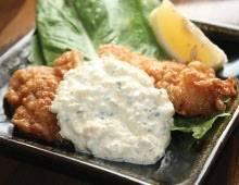 ไก่ทอดราดซอสทัลทาร์ (S)