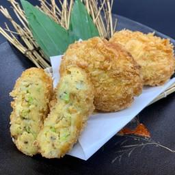 Cabbage egg cutlet(キャベツ玉子カツ)