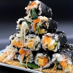 Japanese omlette kimbab(だし巻きキンパ)