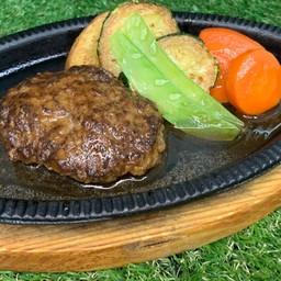 Beef demi-glace humbarg steak(牛デミグラスハンバーグ)