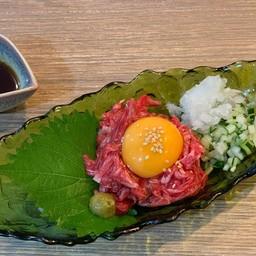 Beef yukhoe(牛ユッケ)