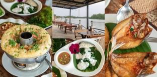 [รีวิว] สวนนพรัตน์ ร้านอาหารสมุทรสงคราม บรรยากาศชิลล์วิวติดแม่น้ำ