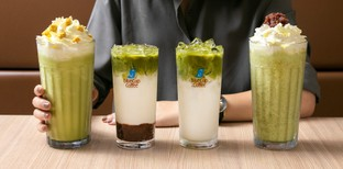 [รีวิว] Bluecup ร้านกาแฟเสิร์ฟสดใหม่ ส่ง 5 เมนูออร์แกนิกเอาใจคอชาเขียว