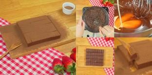 """วิธีทำ """"นามะช็อกโกแลต"""" เมนูขนมหวาน อร่อยหนึบหนับ ทำง่ายไม่กี่ขั้นตอน!"""