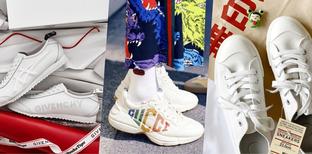 รวม 10 รุ่นรองเท้าผ้าใบสีขาวหลักร้อยยันหลักแสน รุ่นไหนโดนใจมาดูกัน !
