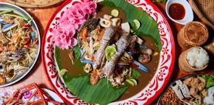 ตำลำซิ่ง by อ.โต ร้านอาหารอีสาน บางแสน ชลบุรี ม่วนสุด ๆ จนฉุดไม่อยู่
