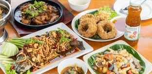 [รีวิว] แซ่บนัว ครัวบ้านนาศาลายา ร้านอาหารอีสานนครปฐมรสแซ่บวิวหลักล้าน